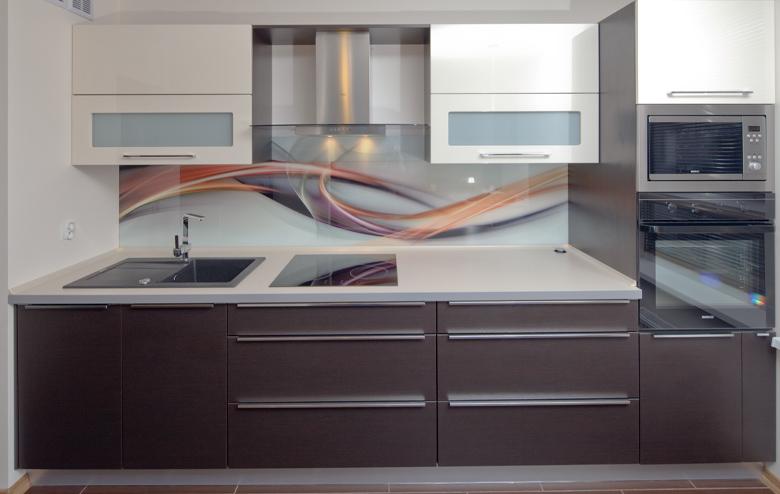 Mała kuchnia na jednej ścianie  Aranżacje -> Mala Kuchnia W U