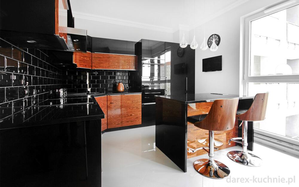 czerń w kuchni