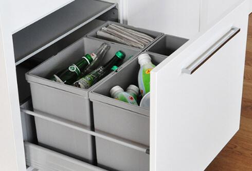 Szuflada na sortownik odpadów