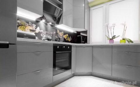 Szara kuchnia czyli modna kuchnia z szarymi frontami