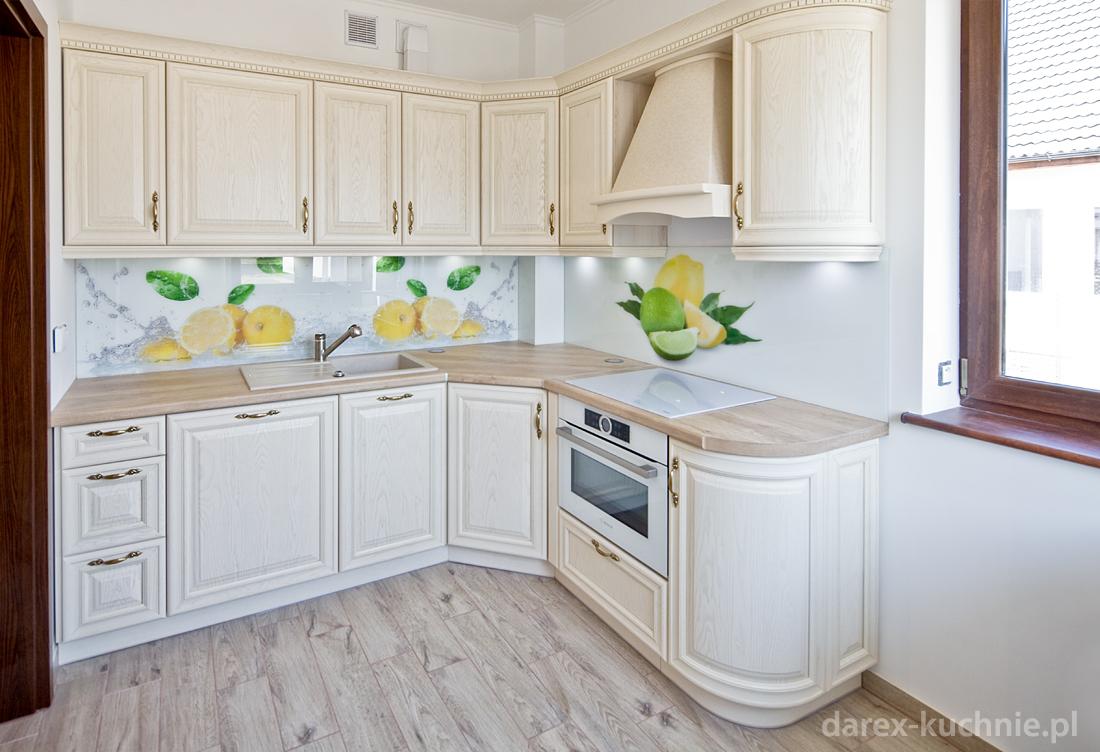 Mała kuchnia drewniana -> Kuchnia Na Wymiar Mala
