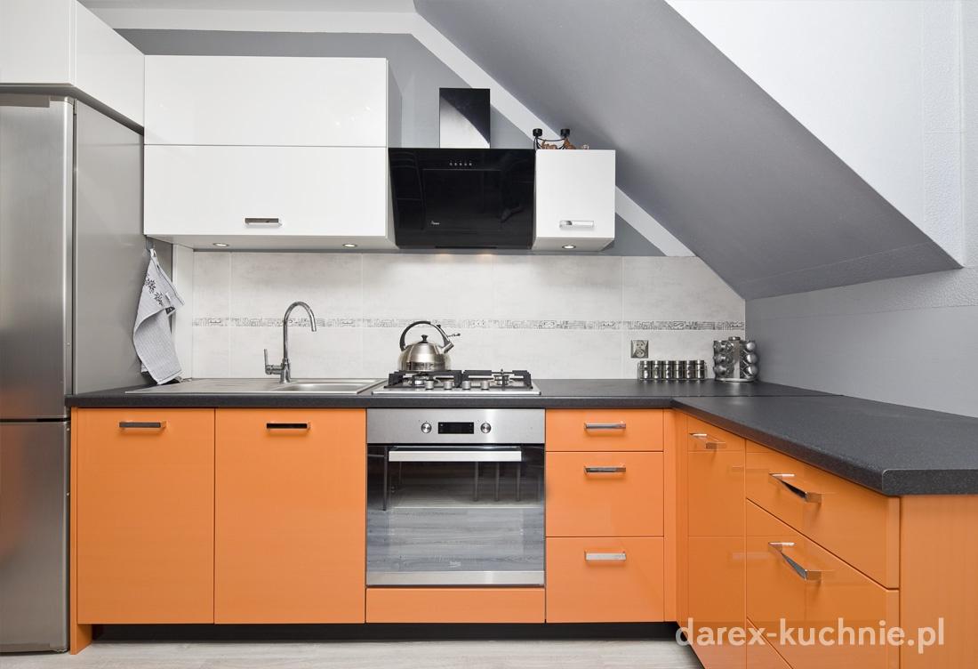 Kuchnia na poddaszu  Darex Szczecin