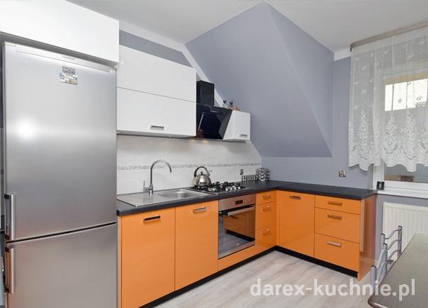 Kuchnia na poddaszu  Darex Szczecin -> Kuchnia Z Jadalnia Na Poddaszu