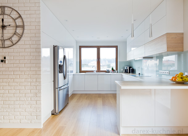 Otwarta kuchnia z barem  Darex Szczecin