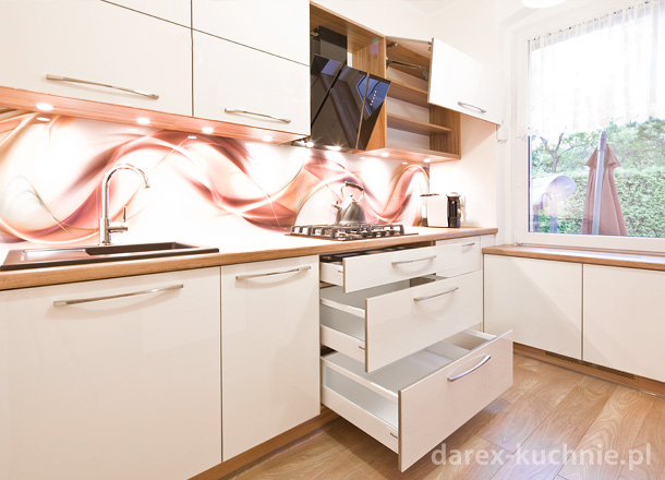 Kuchnia Blokowa Na Jednej ścianie Darex Szczecin