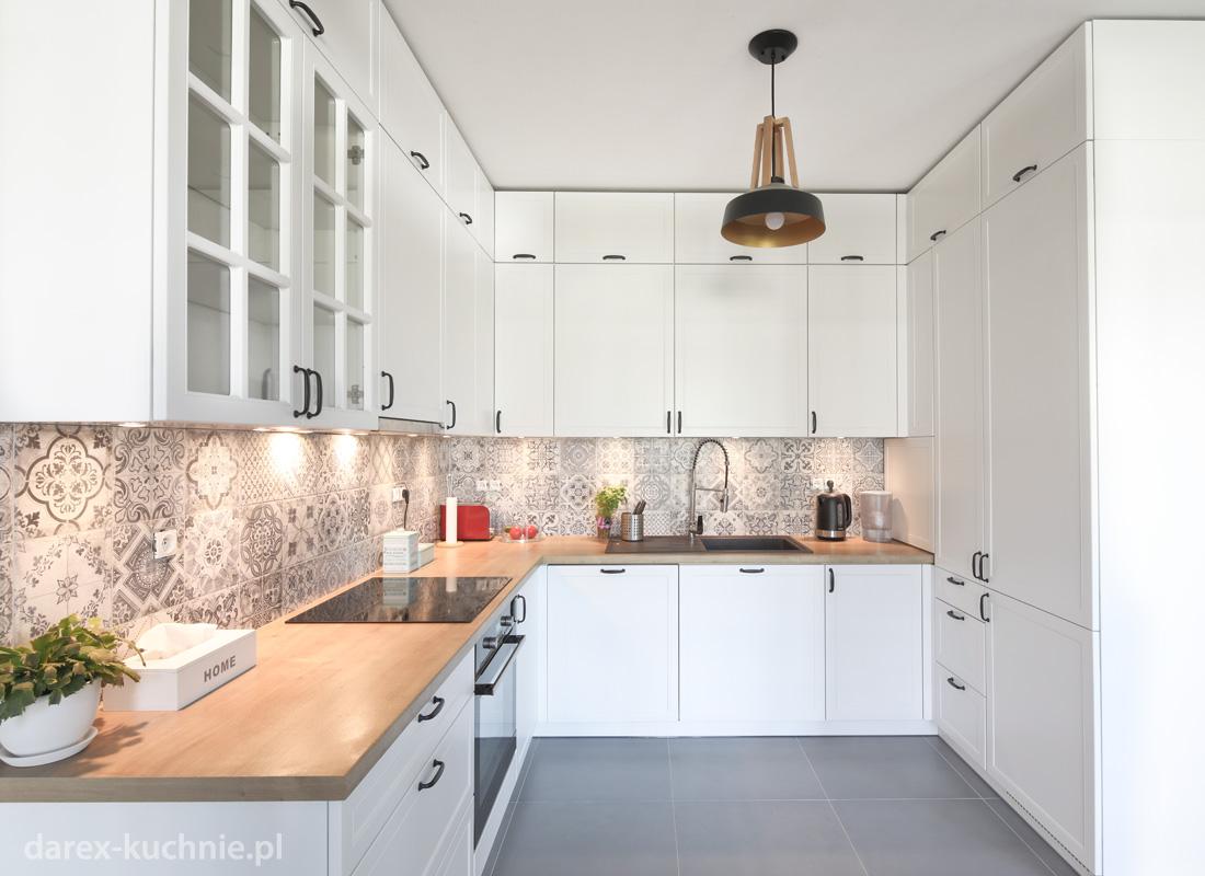 Otwarta Kuchnia Z Zabudowa Do Sufitu Darex Meble Kuchenne